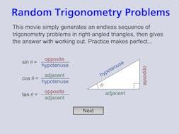 MA5 1-10MG Right-Angled Triangles (Trigonometry) - MathsLinks