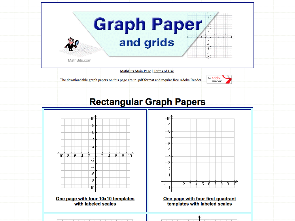 photograph regarding 10x10 Grids Printable titled Graph Paper and grids ) - MathsLinks