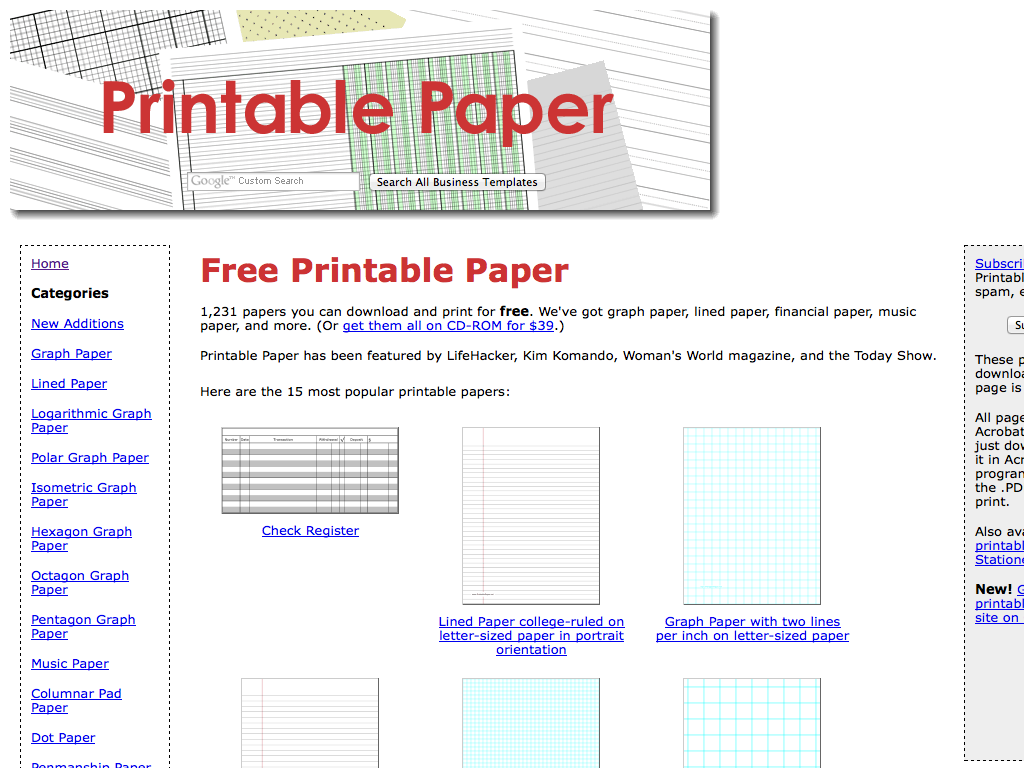 photo about Printable Columnar Paper named Printable Paper - MathsLinks